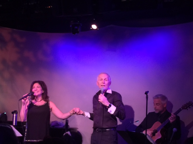 Rob Davis Sings Duets with Lisa Viggiano in
