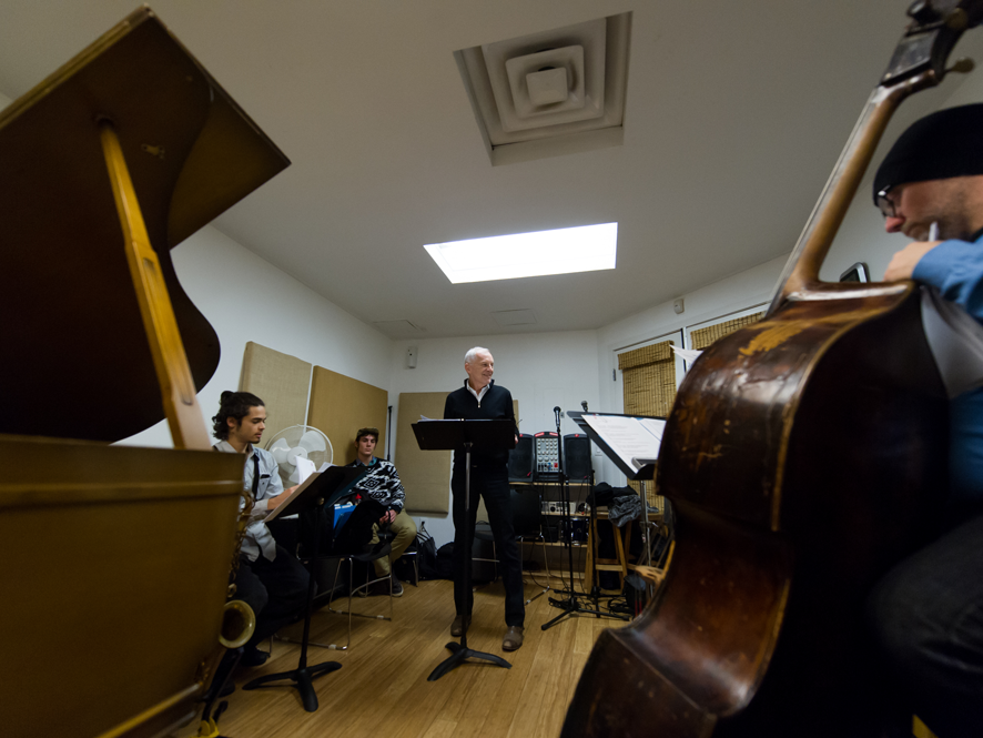 Rob Davis Rehearsal
