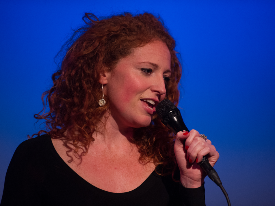 "Marissa Mulder performing in Rob's ""You're The One"", Jan 14, 2015."